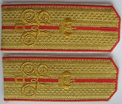 Shoulder straps captain in the Cossack armies Majesty Russian Imperial Army Repo