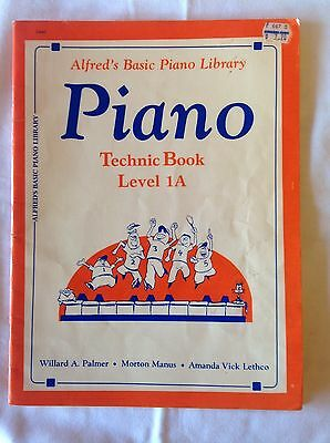 Alfred's Basic Piano Library Technic Level 1A