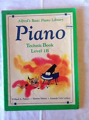 Alfred's Basic Piano Library Technic Level 1B
