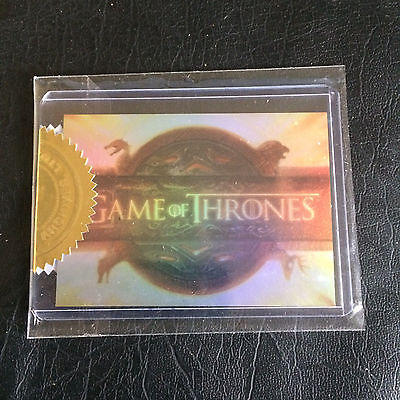 Game Of Thrones Season 2 sealed  Case Topper Card T 1 436/900