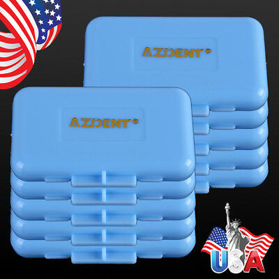US 200X Dental Orthodontic Wax Blue-Mint Scent for Bracket Braces Gum Irritation