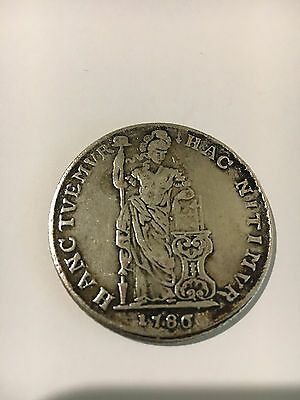 1786 Netherlands East Indies VOC - 3 Gulden