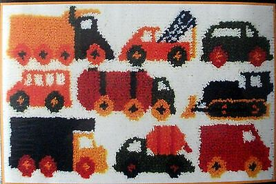 "Mcg Textiles Latch Hook Rug  Kit       ""traffic Jam"""