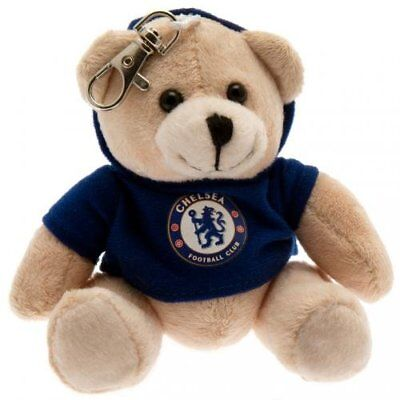Chelsea Football Club Official Bag Buddy Teddy Bear CFC Fan Gift Key Chain Charm