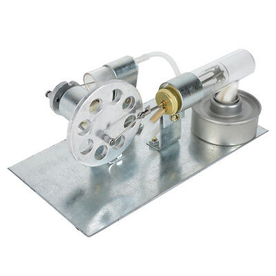 Mini Stirling Engine Model Hot Air Steam Powered Toy Physics Experiment NEW #