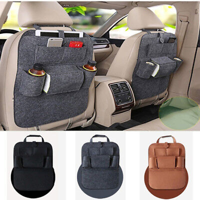 Car Auto Cushion Seat Back Protector Bag Cover For Children Kick Mat Mud Clean