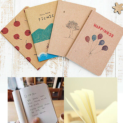 Student lovely cute writing paper paiting blank page notebook Journal diary note