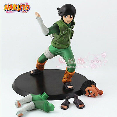 Anime Naruto Shippuden Rock Lee 14cm Toy Figure Doll New without Box