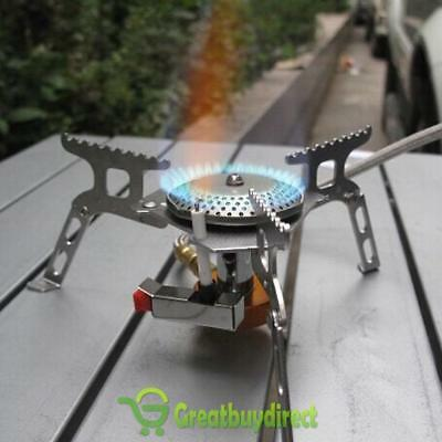 3500W Mini Portable Outdoor Camping Windproof Folding Gas Stove Burner Furnace