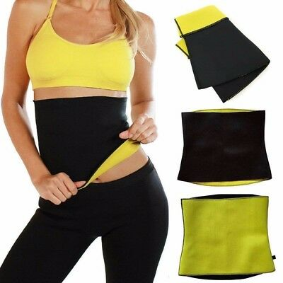 Women Sport Waist Cincher Tummy Girdle Belt Body Shaper Trainer Corset Fitness