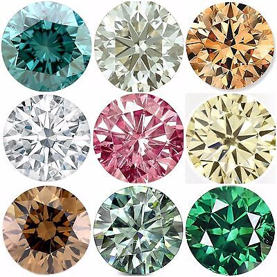 Brilliant Round cut 0.50 to 4.00 ct VVS1/2 genuine loose moissanite for sale