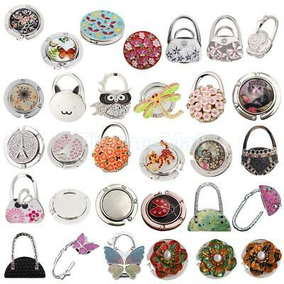 Practical Folding Purse Handbag Bag Hook Hanger Hold Holders Women Gift 31 Types