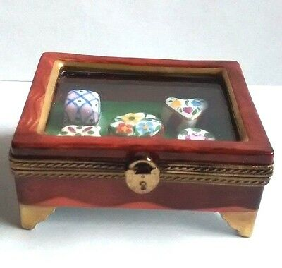 Limoges Box- Miniature Display Case-Eximious