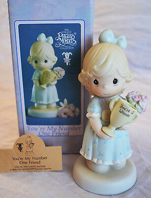 Precious Moments You're My Number One Friend Special 1993 Limited Edition