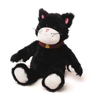 Warmies Cozy Plush Cuddly Pets MINI Black Cat Lavender Scented Microwavable Toy