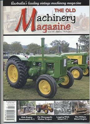 The Old Machinery Magazine TOMM  issue 159 February-March 2012