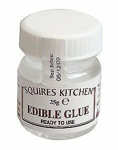 Squires Kitchen Edible Glue 25g Sugarcraft Cake Decorating