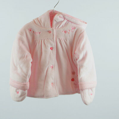 Coco Girls Baby Pink Jacket