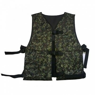 Paintball Gotcha GXG Paintball Wendeweste digi camo inkl. Battle Pack