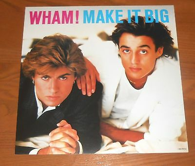 Wham! Make it Big Poster Flat 1984 Promo 12x12 George Michael RARE