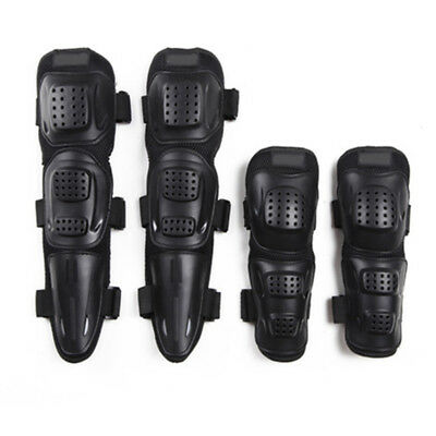 Newest! Motorcycle Racing Motocross Knee+Elbow Pads Guards Protective Gear 4Pcs