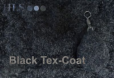 Black Tex-Coat textured lead coating powder Carp Camouflage top coat - HLS [TXK]