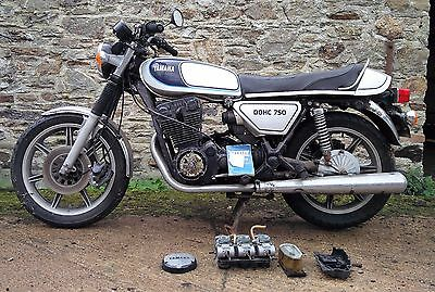 1977 YAMAHA XS750 ONLY 26740mls BARN FIND PROJECT SPARES OR REPAIRS CAFE RACER