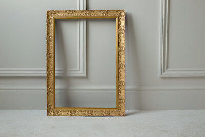 WIDE Ornate Shabby Chic Antique Swept Picture Photo Frame  MUSE Gold