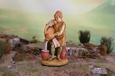"5"" Fontanini Nativity Kings Servant GILEAD - Depose Italy 1995 w/ Story Nice!"
