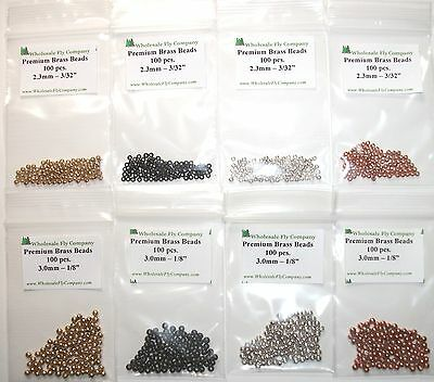 Angelsport-Artikel 600 Copper Color Tungsten Fly Tying Beads Assorted Sizes B