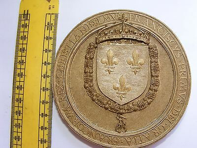 Resin Replica of a Royal Wax Seal ? Very Detailed