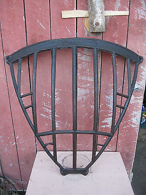 Antique Cast Iron Corner Hay Feeder
