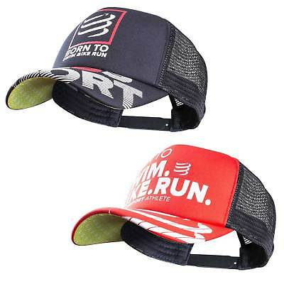 Compressport Trucker Cap - Born to Swim Bike Run - Baseballkappe limitiert 2017