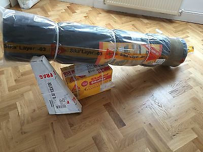 Sika Acoubond system complete underlay set 25m with free adhesive gun