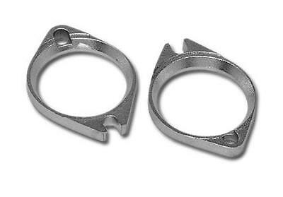 Mcs Harley Davidson Chrome Manifold Flange Set Big -Twins/Xl 1990-2005 Bc38439 T