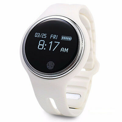Sport Smartwatch E07 white Android IOS Bluetooth Iphone IP67 smart wristband