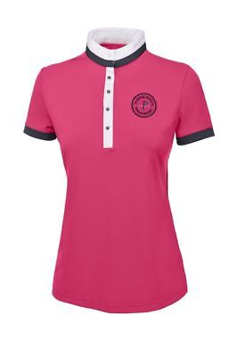 Pikeur Ladies Stylish Equestrian Sabina Horse Riding Short Sleeved Polo