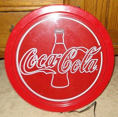 Coca Cola Coke Light Up Sign Wall Plug In Flip Switch