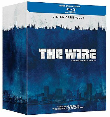 The Wire - Complete Season 1-5 Blu-ray Region Free
