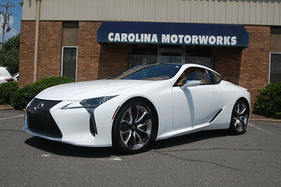 2018 Lexus LC LC 500 RWD 2018 Lexus LC 500 only 189 miles, Great Options, Sport Package, Mark Levinson