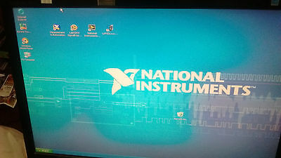 National Instruments PXI Controller PXI-1002 1GHzOscilloscope/Digitizer+6052DAQ+