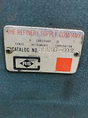 Refinery supply company dead weight tester 35260-002