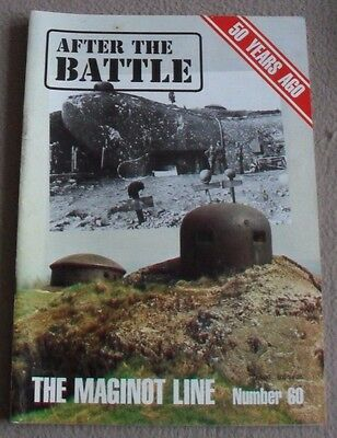 AFTER THE BATTLE magazine No 60 - THE MAGINOT LINE