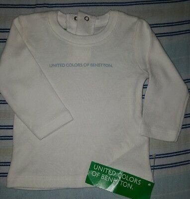 ** UNITED COLORS OF BENETTON Baby top size 1/3 months - Brand new **
