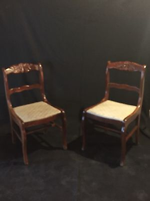 Vintage rose chairs