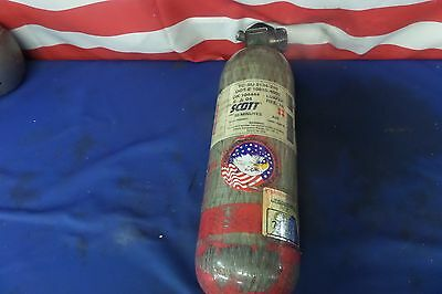 Scott 4,500 PSI 30 Minute Air Bottle 06-2004 Manufacture Date