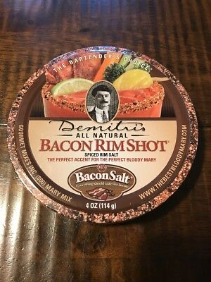 Demitris Bacon RimShot, Spiced Rim Salt, 4 Ounce Tin