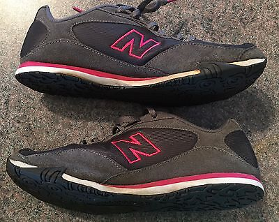 Womens 442 New Balance Shoes - Size 9 - Pink & Grey