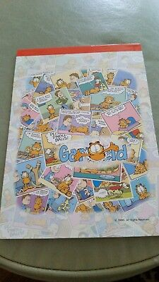 Brand new Korea Garfield stationary letter pad 16 different designs 32 pages