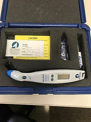Accutome Accu-pen / Tonopen Perfect Condition Only 3 Year old
